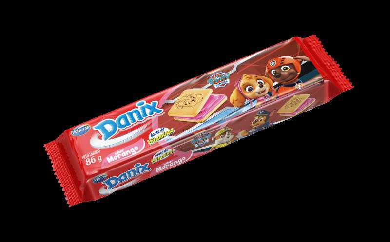 Biscoito recheado sabor Morango 86g