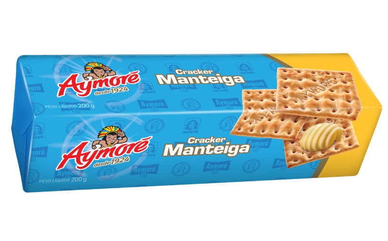 Aymoré Cracker Manteiga 200g
