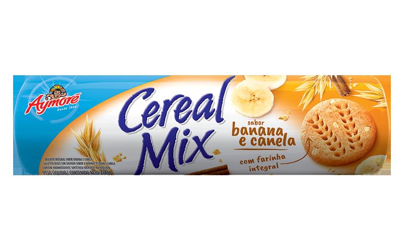Aymoré Cereal Mix Banana e Canela