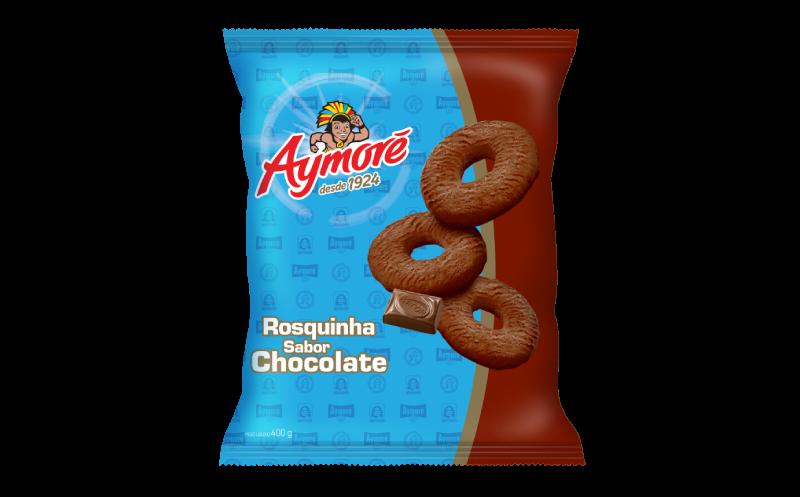 Aymoré rosquinha chocolate 400g