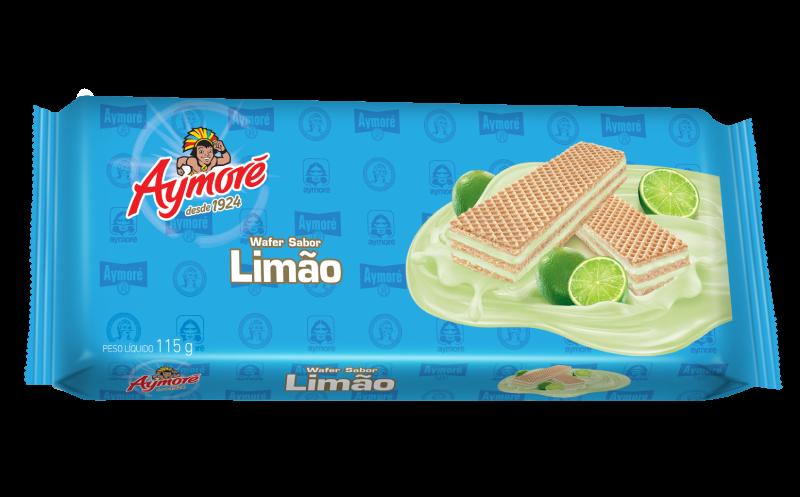 Aymoré wafer limão