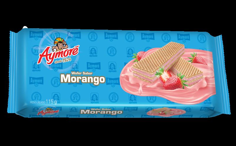 Aymoré wafer morango