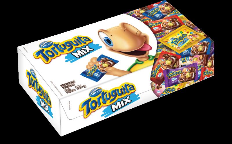Caixa Tortuguita Mix