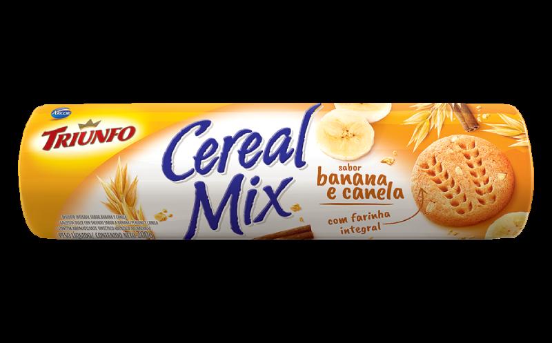 Cereal Mix Banana e Canela