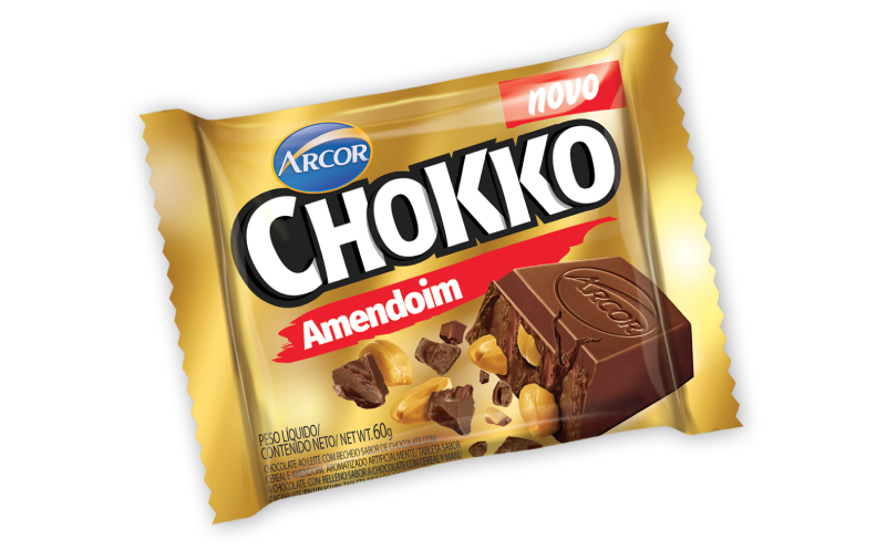 Chokko Tablete Amendoim 60g