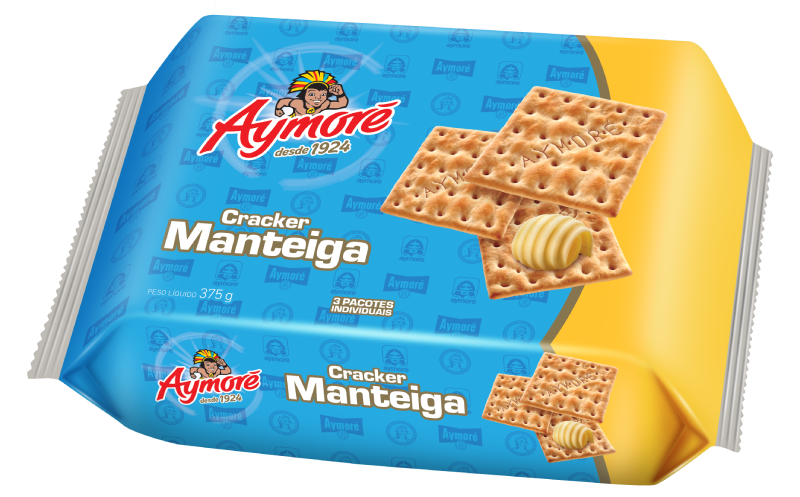 Aymoré Cracker Manteiga 375g