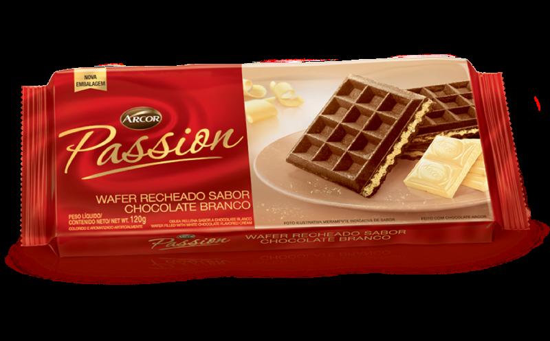 Passion sabor Chocolate Branco 120g