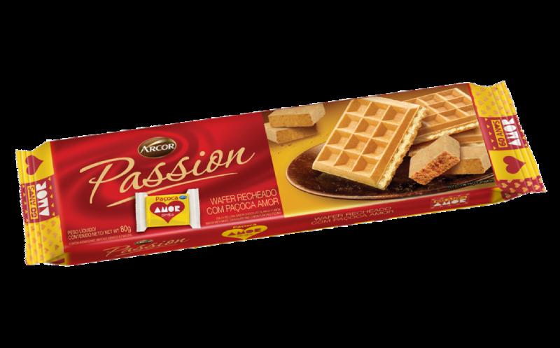 Passion sabor Paçoca Amor