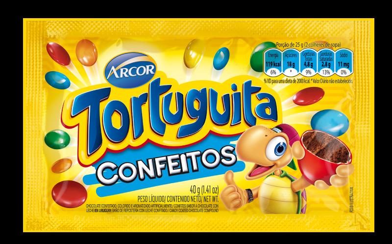 Tortuguita Confeitos 40g
