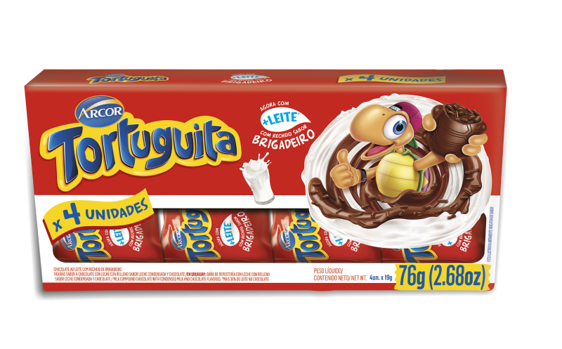 Tortuguita Brigadeiro