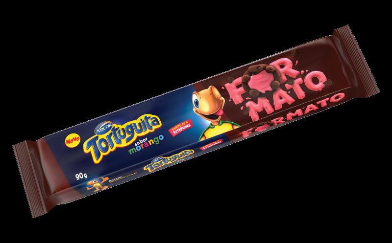 Tortinha Formato sabor Morango
