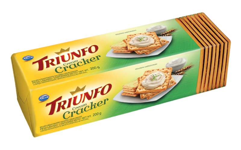 Triunfo Cream Cracker 200g