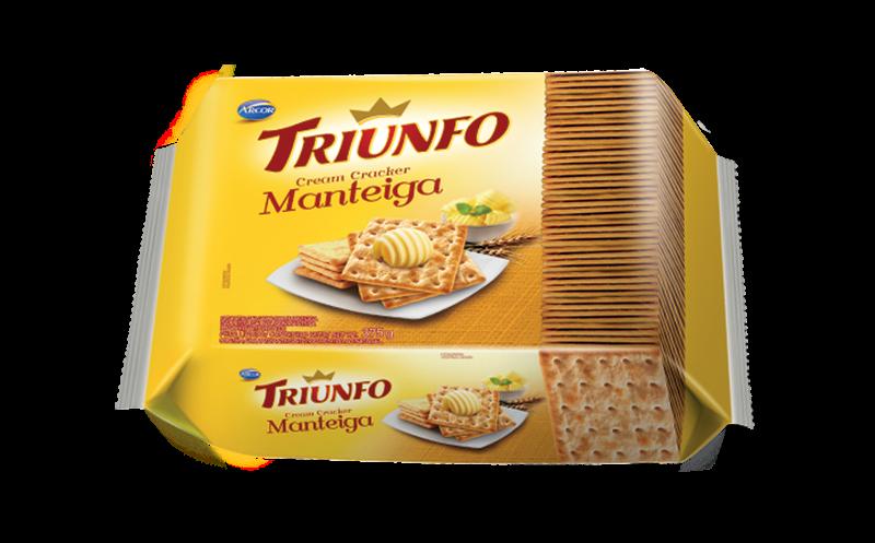 Triunfo Cracker Manteiga 375g