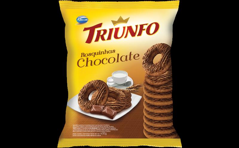 Triunfo rosquinha chocolate 400g