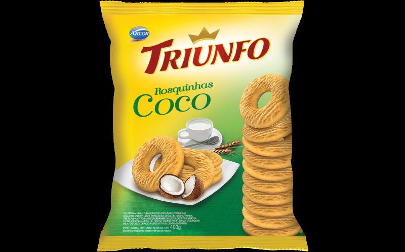 Triunfo rosquinha coco 400g