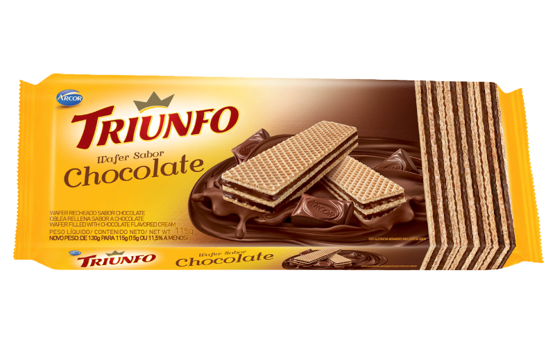 Triunfo wafer chocolate