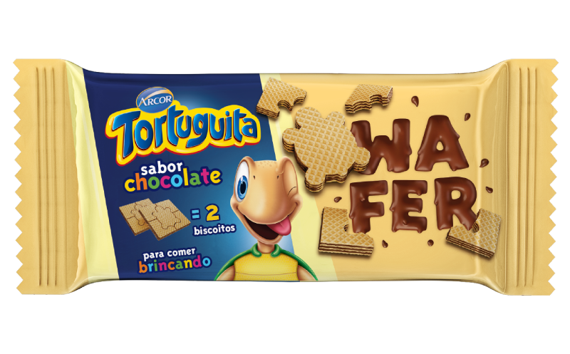 Tortuguita Wafer Chocolate