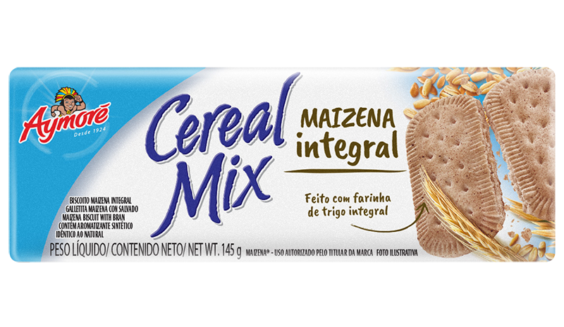 Aymoré Cereal Mix Maizena Integral