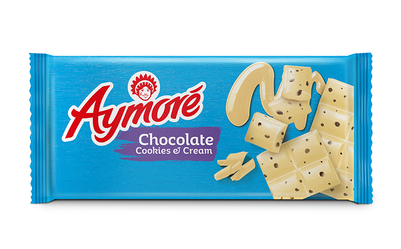 Aymoré Chocolate Cookies & Cream 80g