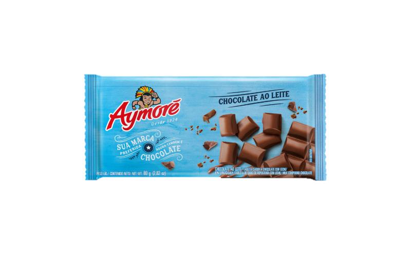 Aymoré Chocolate Ao Leite 80g
