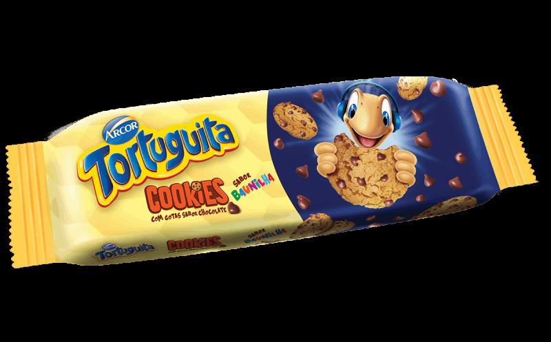Tortuguita Cookies Baunilha